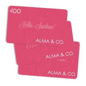 Alma & Co. E-Gift Card