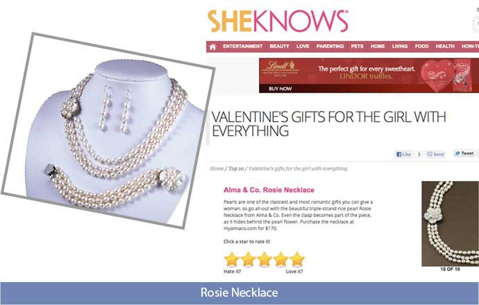 alma & co. limited edition fashion jewelry on sheknows.com