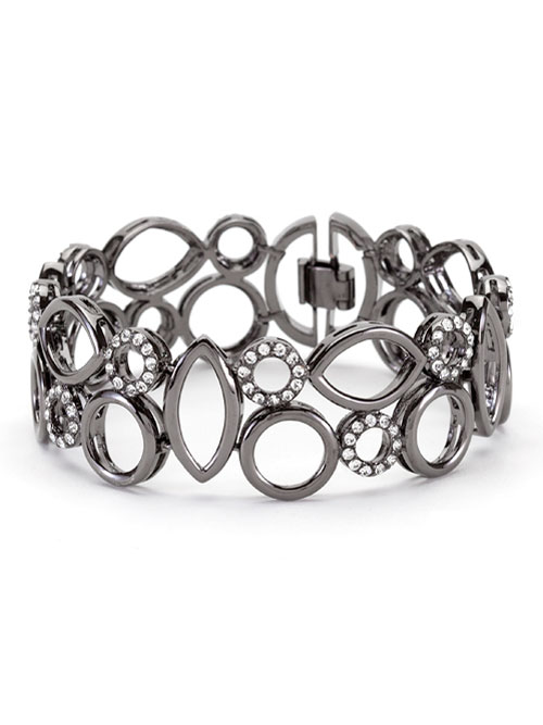 jackpot hematite black bracelet