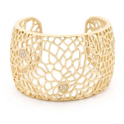 Felicia gold cuff bracelet