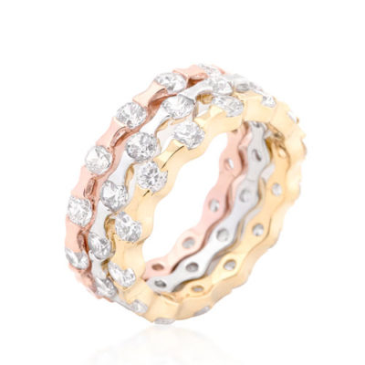 Tiffany stackable rings gold silver rings