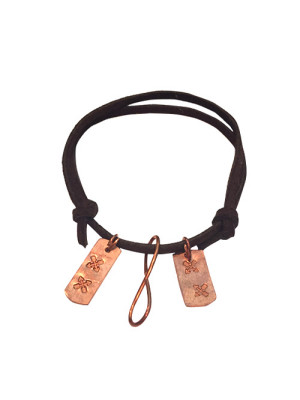 alma and co leather bracelet by belt & wire