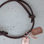 dreamcatcher leather bracelet belt & wire for alma and co