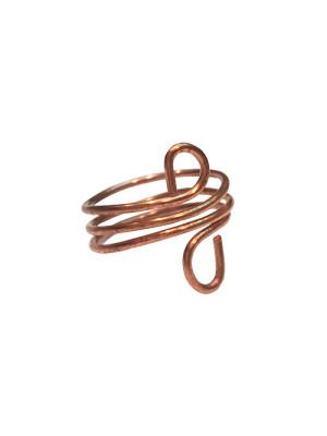 turban copper ring alma and co