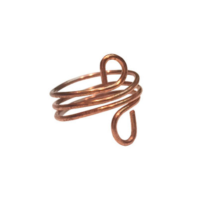 turban copper ring alma and co