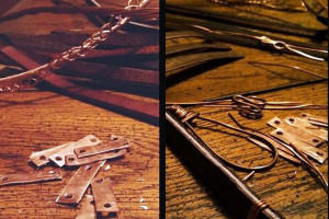 belt & wire for alma & co behind the scenesthe