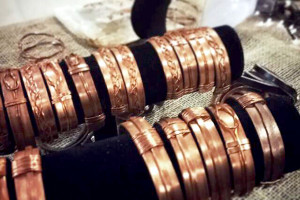 belt & wire for alma & co copper bracelets