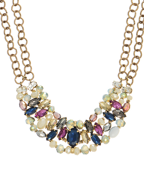 alma & co wanderlust necklace statement necklace