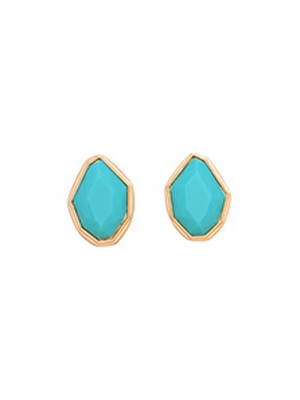 Alma & Co. Marina Turquoise Stud Earrings