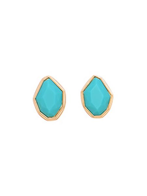Alma & Co. Marina Turquoise Stud Earrings