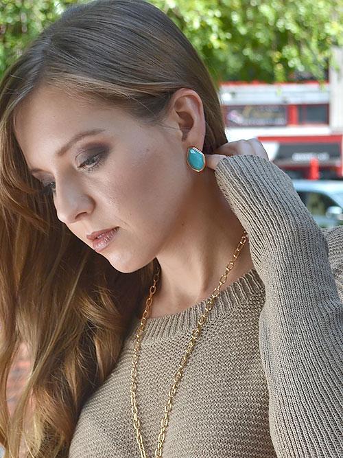 Alma & Co. Marina Stud Earrings
