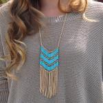 Alma & Co. Sienna Fringe Necklace