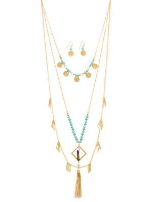Alma & Co. Zoe Layered Necklace