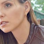 Alma & Co. Claire Bar Stud Earrings