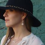 Alma & Co. Bellissima Ivory Pearl Earrings