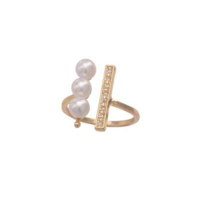 alma and co bellisima pearls ring