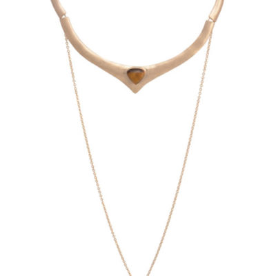 alma and co free spirit gold choker
