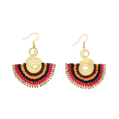 alma and co artisan earrings handmade