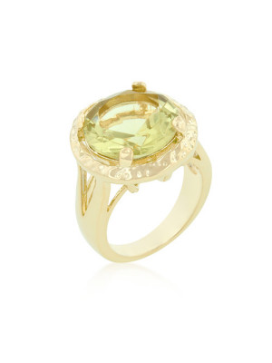 alma and co yellow topaz ring