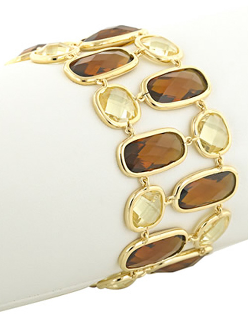 alma and co topaz and citrine bracelet