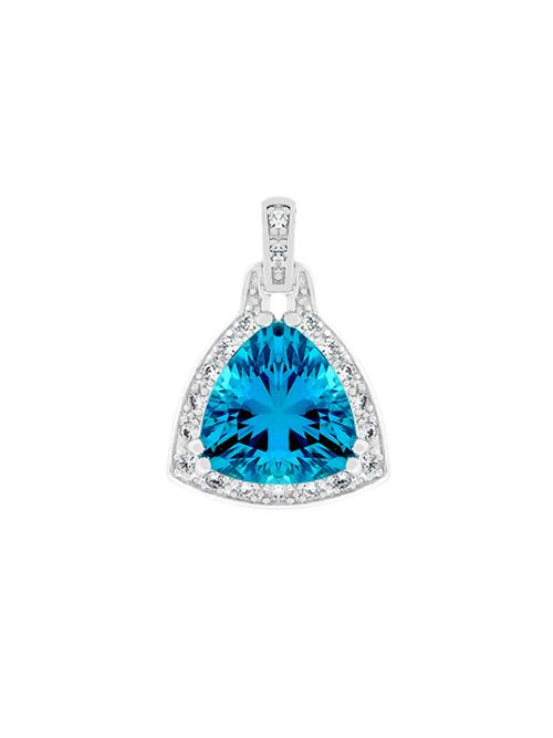 alma and co judy blue zircon pendant