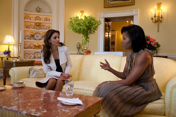 Michelle-Obama-Queen-Rania-of-Jordan